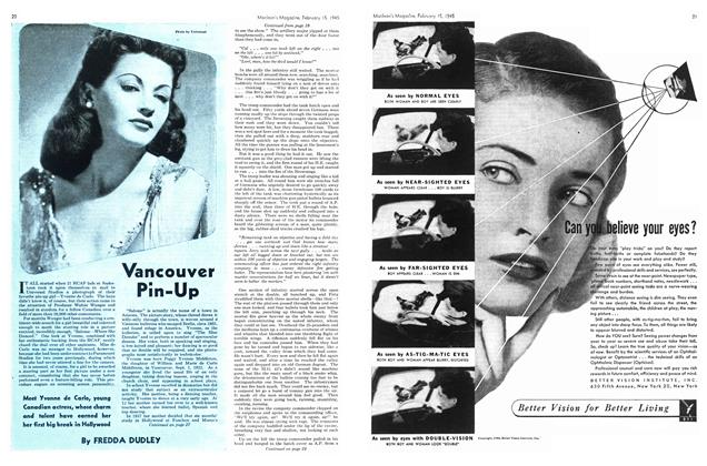 Article Preview: Vancouver Pin-Up, February 1945   Maclean's