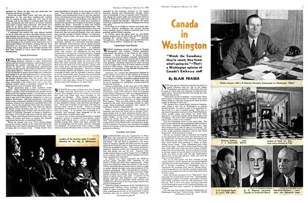 Article Preview: Canada in Washington, February 1945 | Maclean's