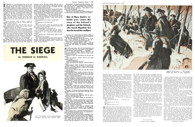 Article Preview: THE SIEGE, March 1945 | Maclean's