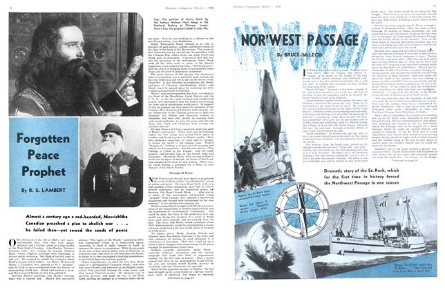 Article Preview: NOR'WEST PASSAGE, March 1945 | Maclean's