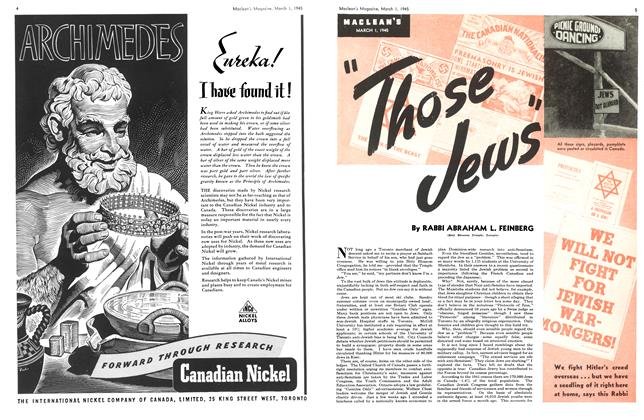 "Article Preview: ""Those Jews"", March 1945 