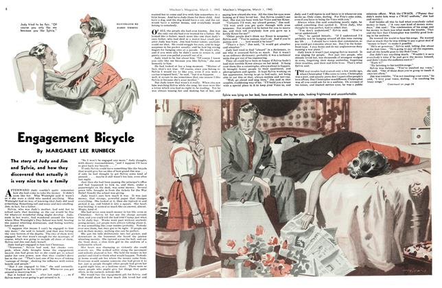 Article Preview: Engagement Bicycle, March 1945 | Maclean's