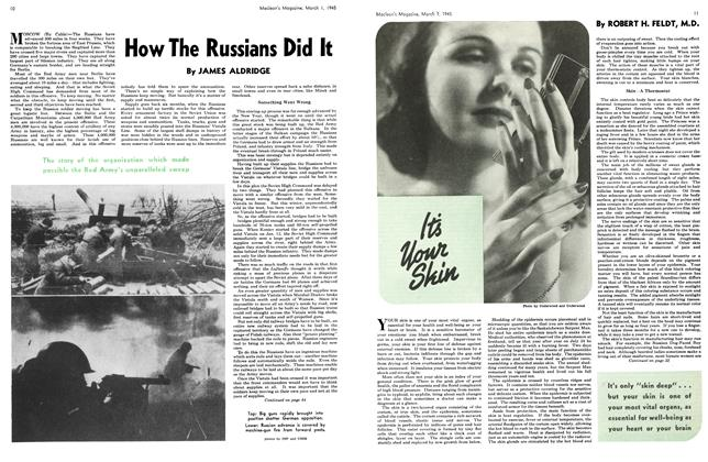 Article Preview: How The Russians Did It, March 1945 | Maclean's