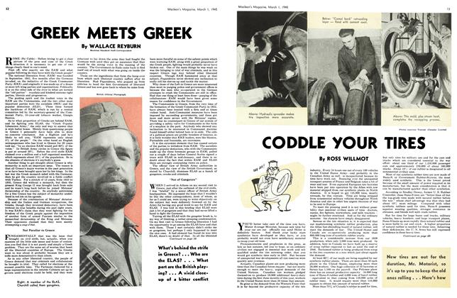 Article Preview: GREEK MEETS GREEK, March 1945 | Maclean's