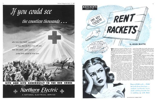 Article Preview: RENT RACKETS, March 1945 | Maclean's