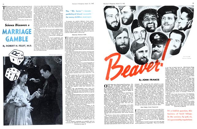 Article Preview: Beaver!, March 1945 | Maclean's