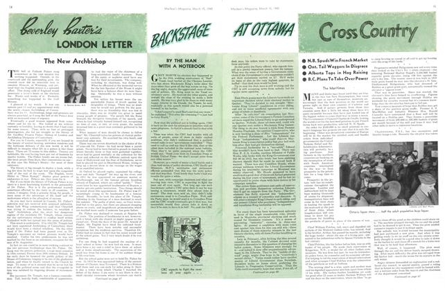 Article Preview: Cross Country, March 1945 | Maclean's