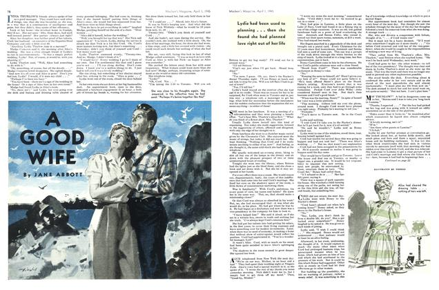 Article Preview: A GOOD WIFE, April 1945 | Maclean's