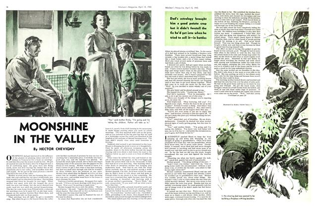 Article Preview: MOONSHINE IN THE VALLEY, April 1945 | Maclean's