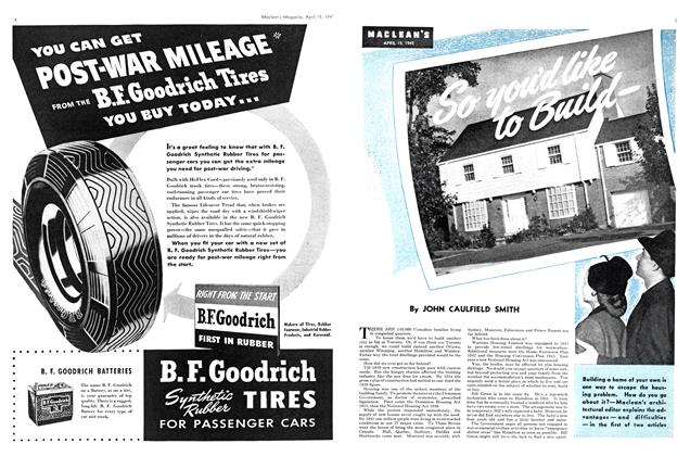 Article Preview: So you'd like to Build -, April 1945 | Maclean's