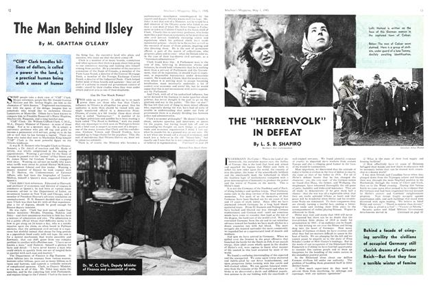 "Article Preview: THE ""HERRENVOLK"" IN DEFEAT, May 1945 