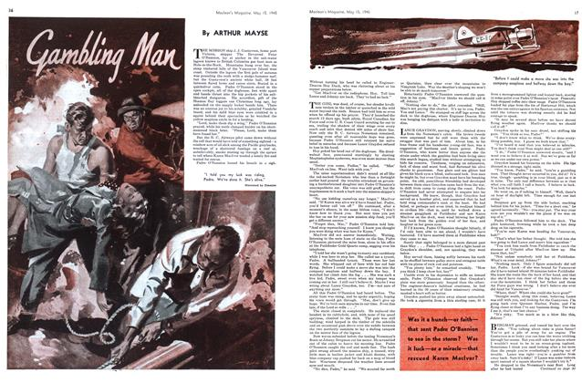 Article Preview: Gambling Man, May 1945 | Maclean's