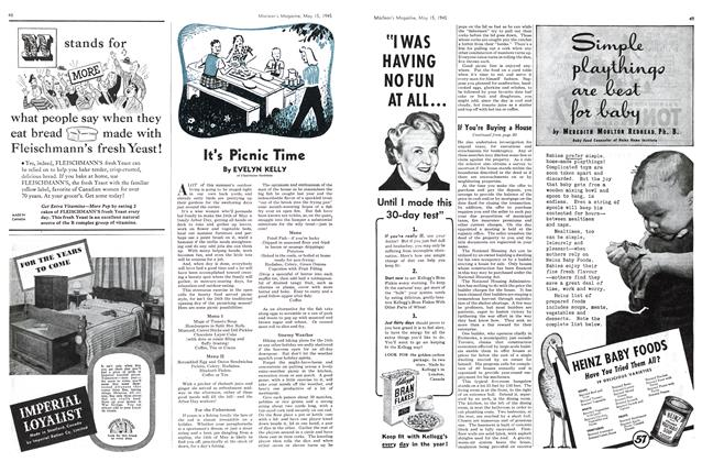 Article Preview: lt's Picnic Time, May 1945 | Maclean's