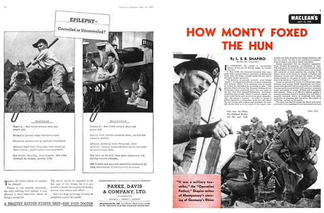 Article Preview: HOW MONTY FOXED THE HUN, May 1945 | Maclean's