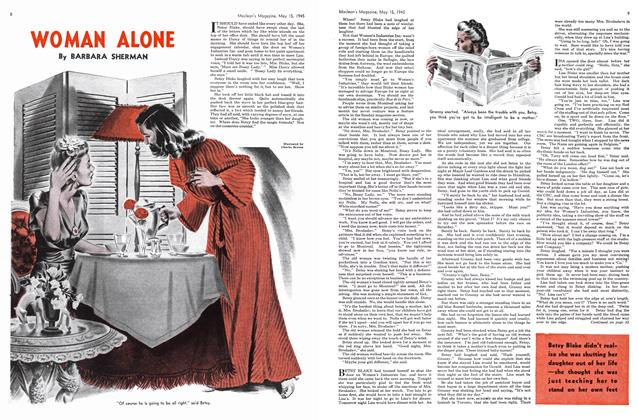 Article Preview: WOMAN ALONE, May 1945 | Maclean's