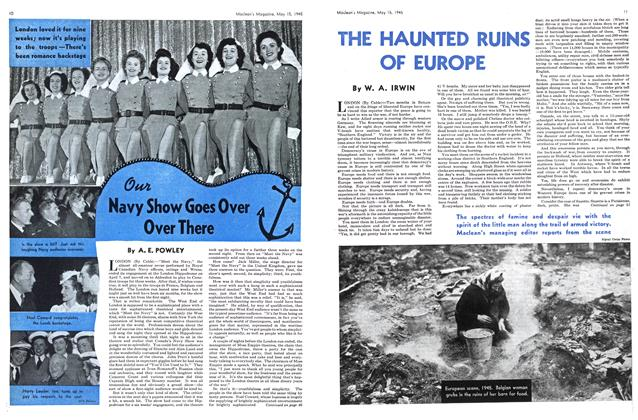 Article Preview: THE HAUNTED RUINS OF EUROPE, May 1945 | Maclean's