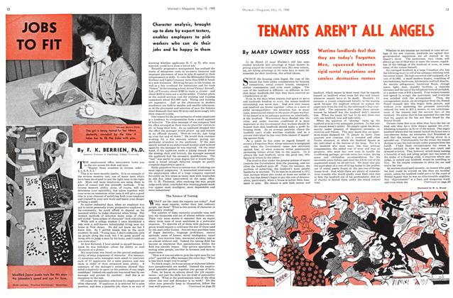Article Preview: JOBS TO FIT, May 1945 | Maclean's