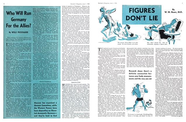 Article Preview: FIGURES DON'T LIE, June 1945 | Maclean's