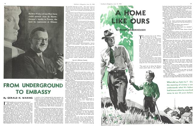 Article Preview: FROM UNDERGROUND TO EMBASSY, June 1945 | Maclean's