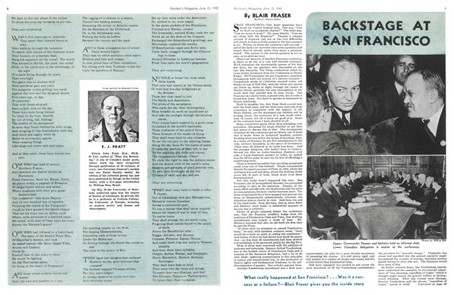 Article Preview: BACKSTAGE AT SAN FRANCISCO, June 1945 | Maclean's