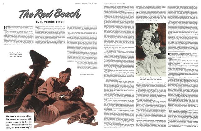 Article Preview: The Red Beach, June 1945 | Maclean's