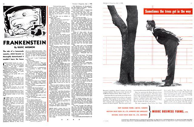 Article Preview: FRANKENSTEIN, July 1945 | Maclean's