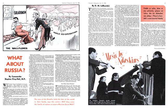Article Preview: Music by Adaskins, July 1945 | Maclean's