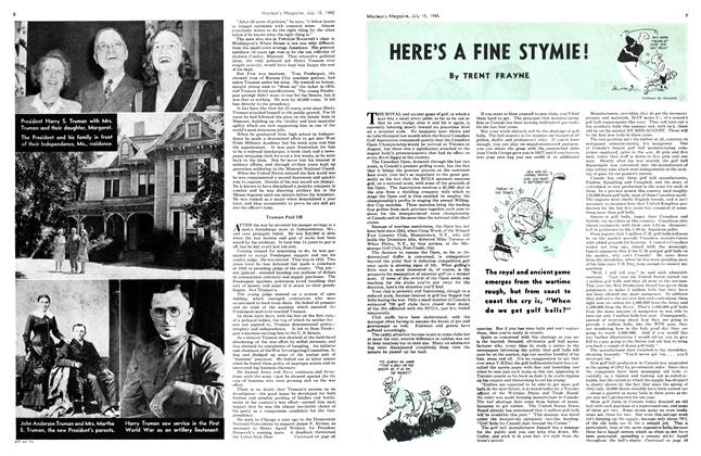 Article Preview: HERE'S A FINE STYMIE!, July 1945 | Maclean's