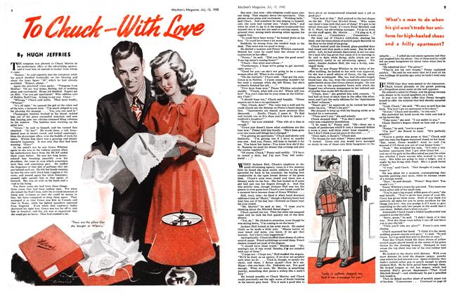 Article Preview: To Chuck—With Love, July 1945 | Maclean's