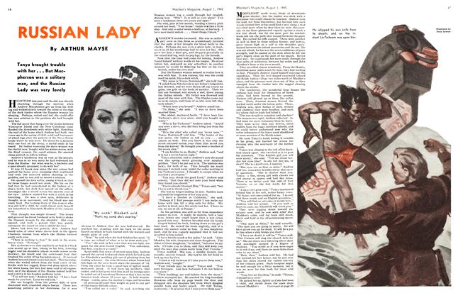 Article Preview: RUSSIAN LADY, August 1945 | Maclean's