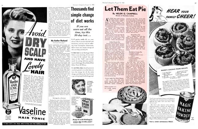 Article Preview: Let Them Eat Pie, August 1945 | Maclean's
