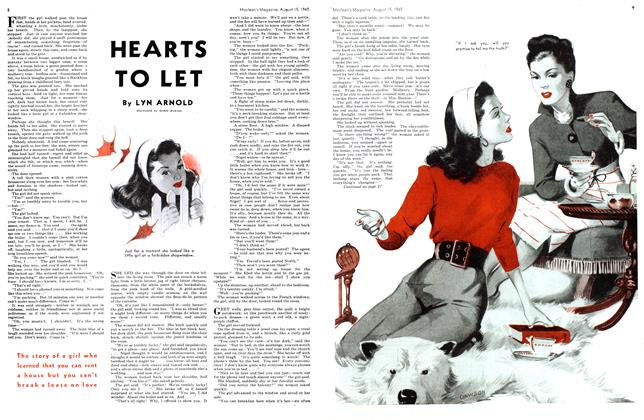 Article Preview: HEARTS TO LET, August 1945 | Maclean's