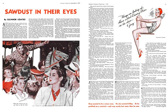 Article Preview: SAWDUST IN THEIR EYES, SEPT. 1, 1945 1945 | Maclean's