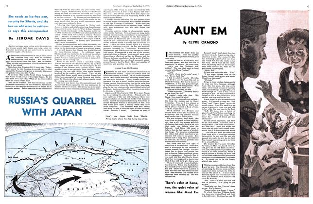 Article Preview: AUNT EM, SEPT. 1, 1945 1945 | Maclean's