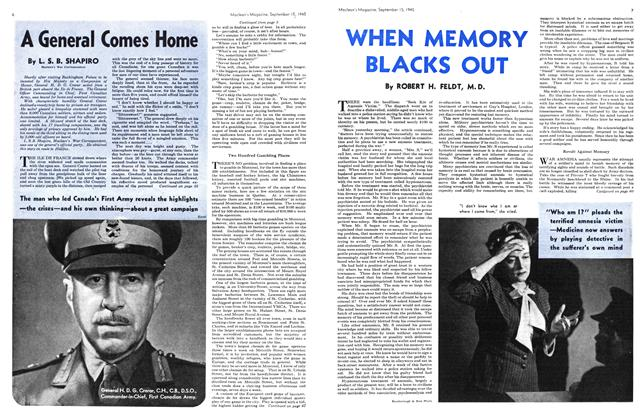 Article Preview: A General Comes Home, Sept. 15, 1945 1945 | Maclean's