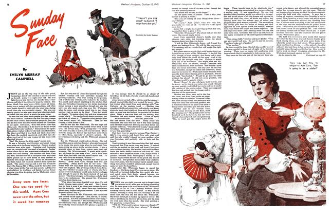 Article Preview: Sunday Face, October 1945 | Maclean's