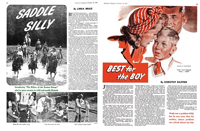 Article Preview: SADDLE SILLY, October 1945 | Maclean's