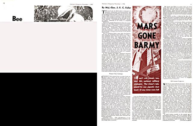 Article Preview: MARS GONE BARMY, November 1945 | Maclean's