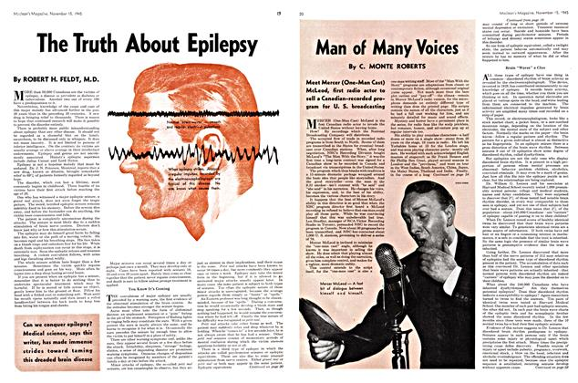 Article Preview: The Truth About Epilepsy, November 1945 | Maclean's