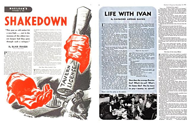 Article Preview: LIFE WITH IVAN, November 1945 | Maclean's