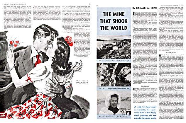 Article Preview: THE MINE THAT SHOOK THE WORLD, November 1945 | Maclean's