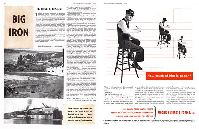 Article Preview: BIG IRON, December 1945   Maclean's