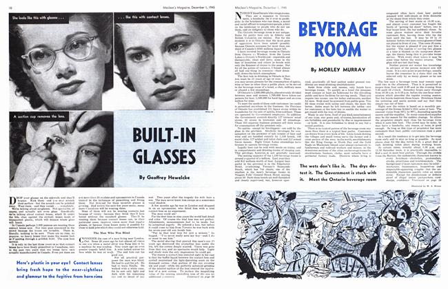 Article Preview: BUILT-IN GLASSES, December 1945 | Maclean's