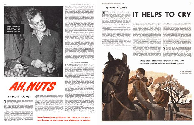 Article Preview: IT HELPS TO CRY, December 1945 | Maclean's