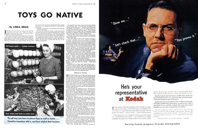Article Preview: TOYS GO NATIVE, December 1945 | Maclean's