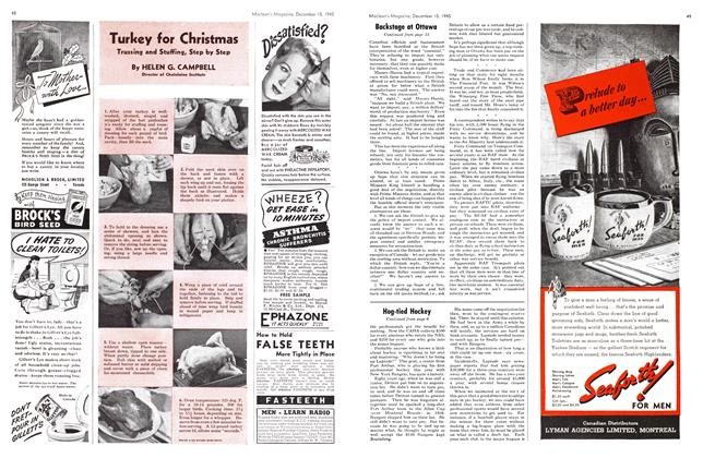 Article Preview: Turkey for Christmas, December 1945   Maclean's
