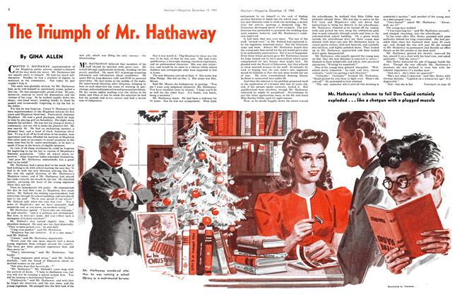 Article Preview: The Triumph of Mr. Hathaway, December 1945 | Maclean's