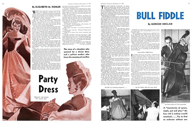 Article Preview: Party Dress, December 1945 | Maclean's