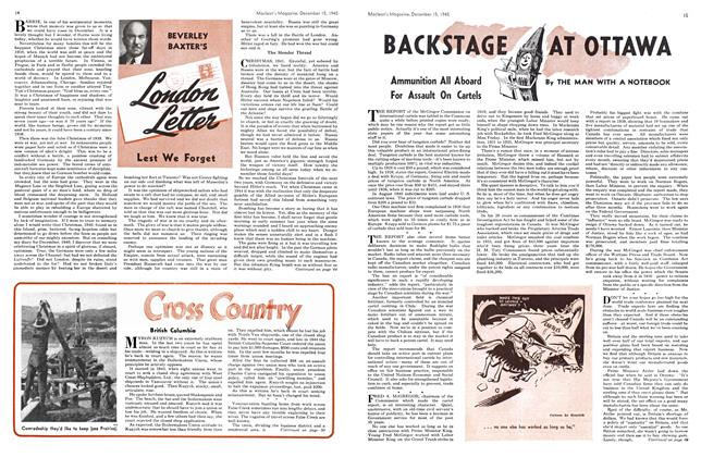 Article Preview: BACKSTAGE AT OTTAWA, December 1945 | Maclean's