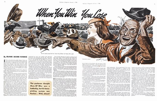Article Preview: When You Win You Lose, January 1946 | Maclean's